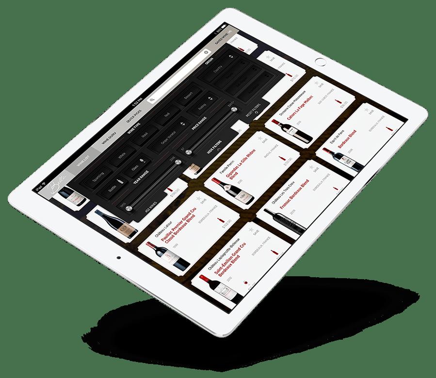 Vinu Running on an iPad